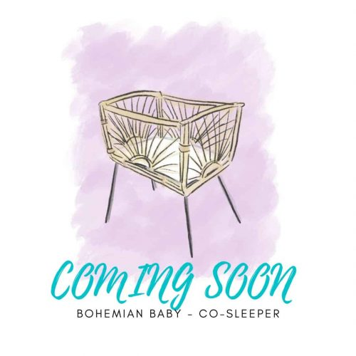 Bohemian Baby Co-sleeper wieg